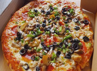 dinos pizza of blue mound texas supreme pizza