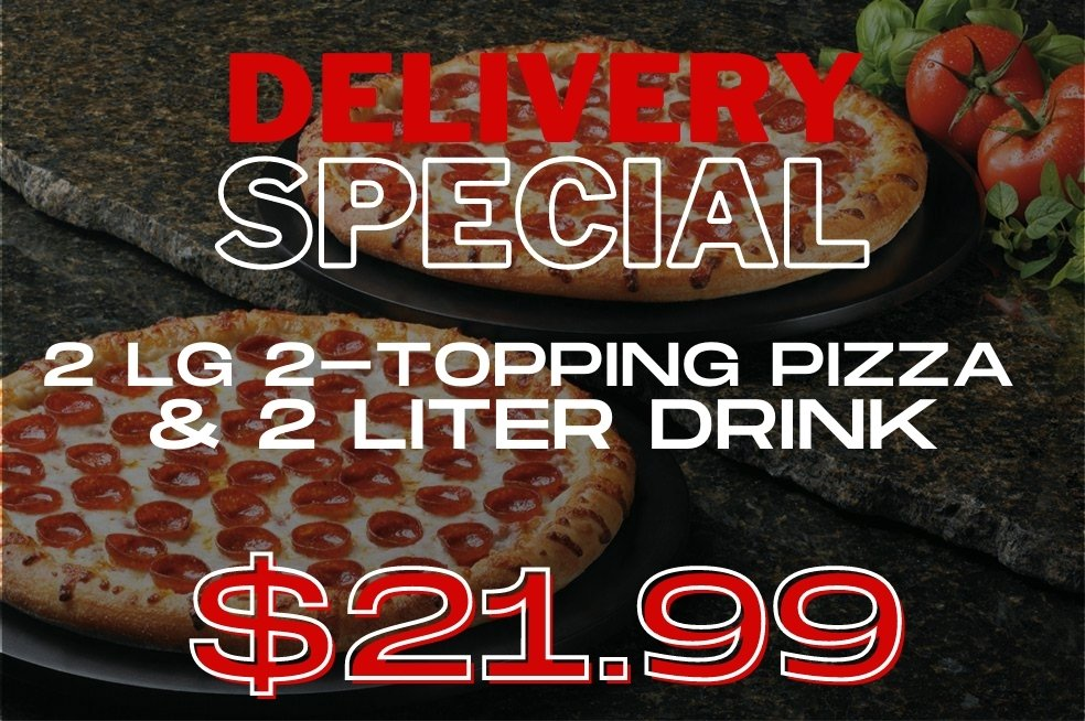 dinos pizza of blue mound texas daily delivery special